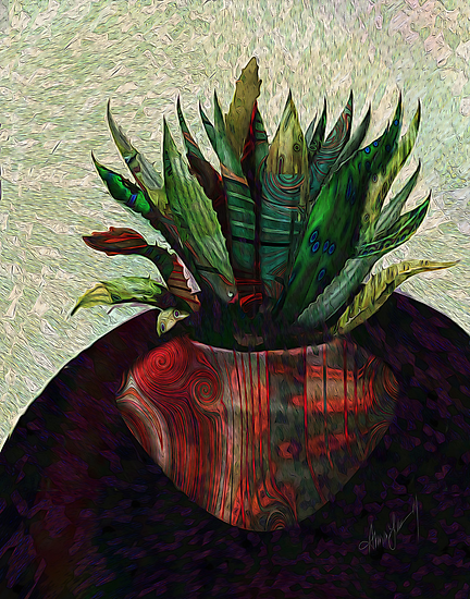 Fractal Botanical by Alma Lee