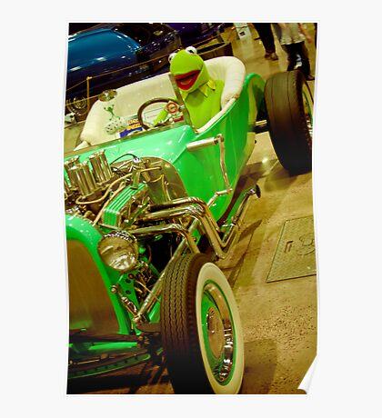 Kermit theee Frog Here Poster