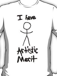 """Artistic Merit"" T-Shirt"