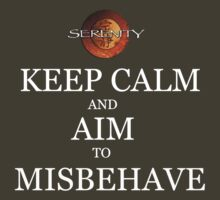 Keep Calm and Misbehave by jenihajas