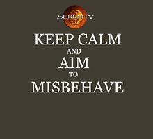 Keep Calm and Misbehave Unisex T-Shirt
