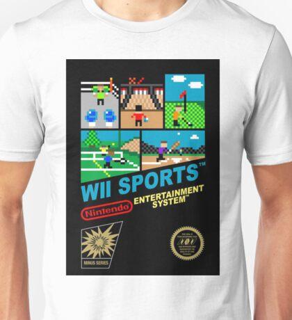 Wii Sports NES Cover Art Unisex T-Shirt