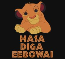 Hasa Diga Eebowai Lion King by funkyphantom