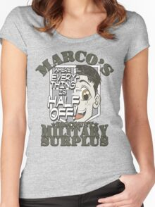 Marco's Discount Military Surplus Women's Fitted Scoop T-Shirt