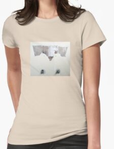 Wall Dog Womens Fitted T-Shirt