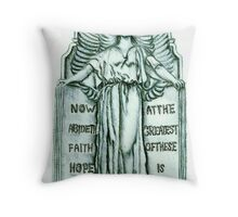 Angel's Rest Throw Pillow