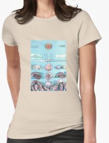 The Birth Of Venus Womens Fitted T-Shirt