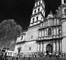 ©MS San José Temple IVAS Monochromatic II by OmarHernandez