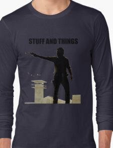 Stuff and Things Walking Dead Long Sleeve T-Shirt