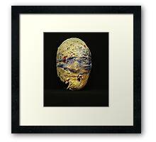 Blind Destruction Framed Print