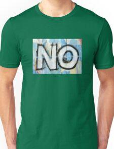 No Unisex T-Shirt