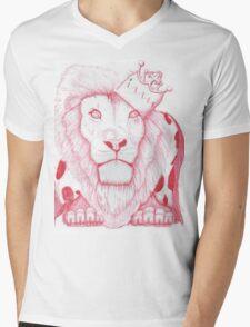 red king Mens V-Neck T-Shirt