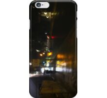 Stormy night iPhone Case/Skin