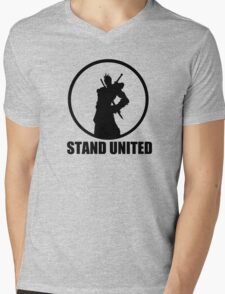 Stand United Mens V-Neck T-Shirt