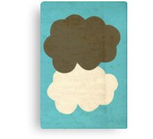 The Fault in Our Stars Clouds Canvas Print
