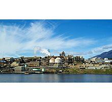 Zinc factory Derwent river,Tasmania Photographic Print