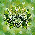 CALM by Lisa Frances Judd ~ QuirkyHappyArt