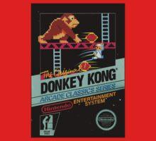 nes donkey kong Baby Tee