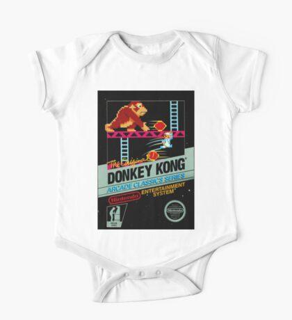 nes donkey kong One Piece - Short Sleeve