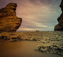 Rock Of Airey's. by Noeline R