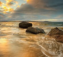 Taroona Beach Sunrise, Tasmania #19 by Chris Cobern