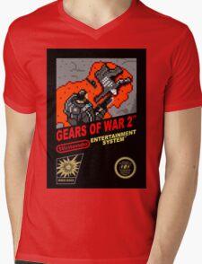 Nes Gears Of War 2 Mens V-Neck T-Shirt
