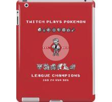 Twitch Plays Pokemon Champions iPad Case/Skin