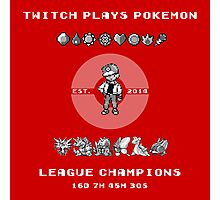 Twitch Plays Pokemon Champions Photographic Print