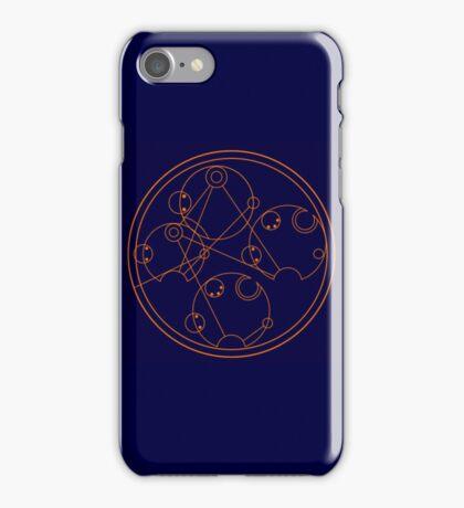 Wibbly Wobbly Timey Wimey - Gallifreyan iPhone Case/Skin