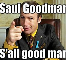 Saul Goodman Design by ogdog