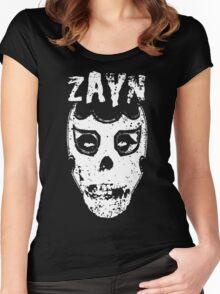 Sami Zayn/Misfits Mashup T-shirt Women's Fitted Scoop T-Shirt