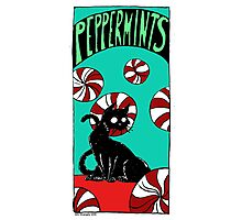 "Dirk Strangely's ""Cats and Sweets"" PEPPERMINTS Photographic Print"
