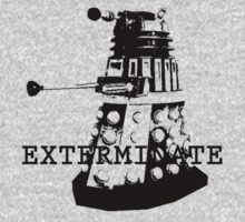 Stencil Dalek. by Mister Dalek and Co .