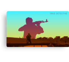 Inspired By True Detective IV Canvas Print