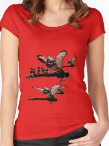 Ladybug rush Women's Fitted Scoop T-Shirt