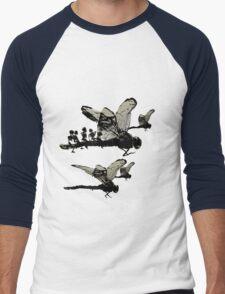 Ladybug rush Men's Baseball ¾ T-Shirt