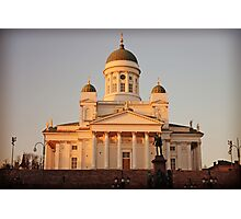 Lutheran Cathedral Helsinki Photographic Print