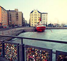 Helsinki Love Bridge by styles