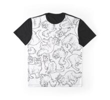 a clowder of psychic cats Graphic T-Shirt