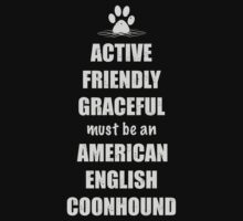 American English Coonhound - Active, Friendly, Graceful by Helen Green