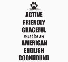 American English Coonhounds - Actively, Friendly, Graceful by Helen Green