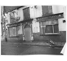 Church Inn Ford Street Salford Poster