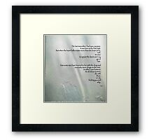 Drugs on the Side  Framed Print