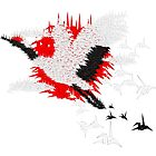 1000 cranes by inu14