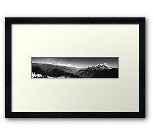 Annapurna Range. Himalayas. Framed Print