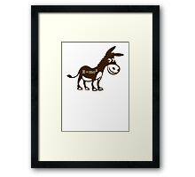 Smart Ass Framed Print