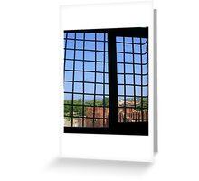 Window in the Castelvecchio Greeting Card
