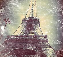 Eiffel Tower, Aged Image by LLStewart