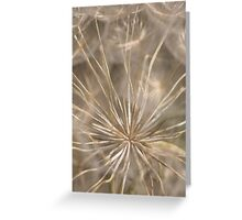 Held in Place Greeting Card