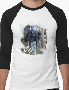 Sherlock: The Game is On! Men's Baseball ¾ T-Shirt